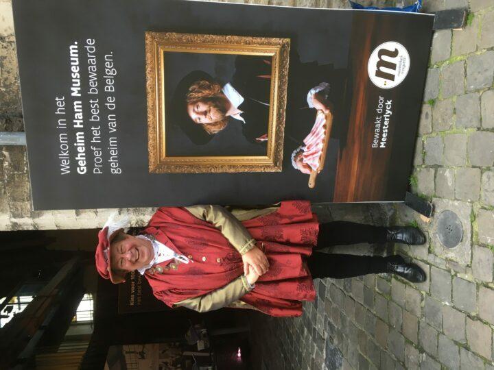 Le musée secret du jambon a ouvert ses portes du 24 jusqu'au 27 octobre